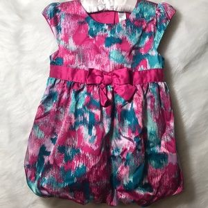 Child's Pink & Teal Dress